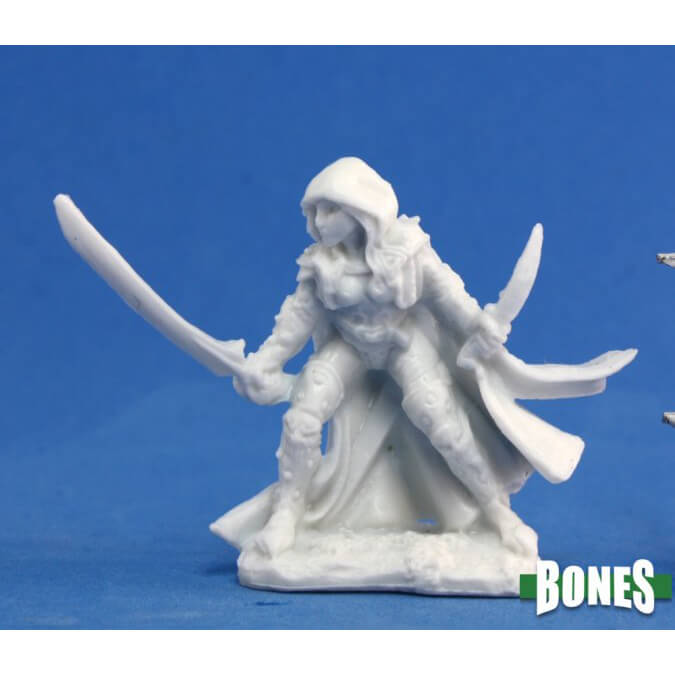 Mini - Reaper Bones 77035 Deladrin Female Assassin