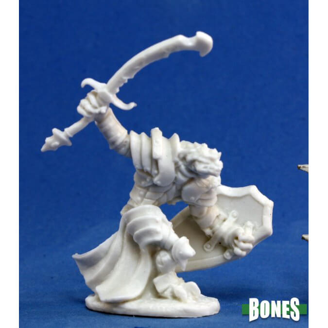 Mini - Reaper Bones 77060 Dragonman Warrior