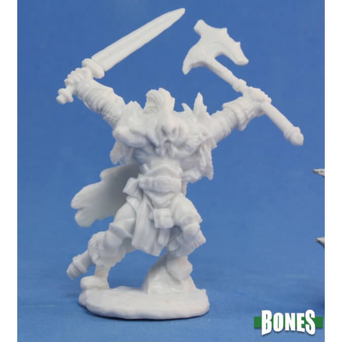 Mini - Reaper Bones 77061 Kord the Destroyer (Human Male)