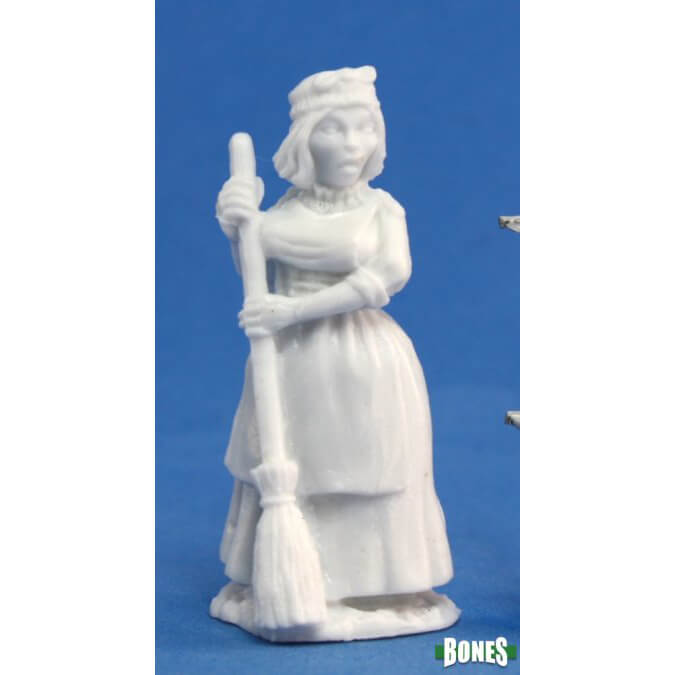 Mini - Reaper Bones 77088 Townsfolk Grandmother (Human Female)
