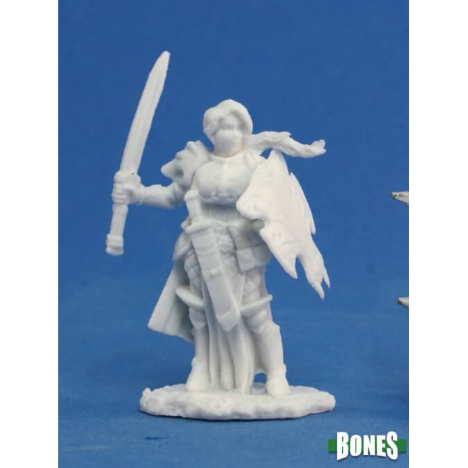 Mini - Reaper Bones 77094 Trista the White Warrior