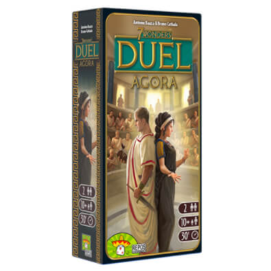 7 Wonders Duel Expansion : Agora