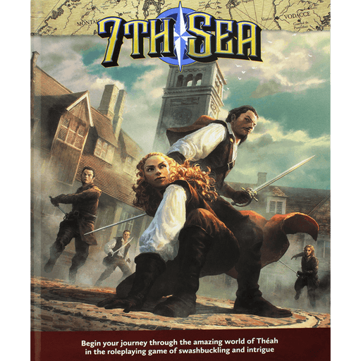 7th Sea (2nd ed) Core Rulebook