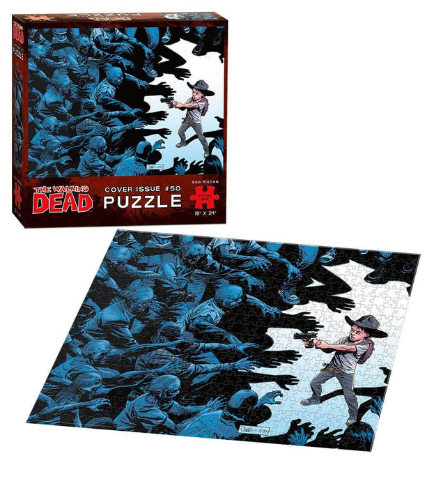 Puzzle - Walking Dead : Cover #50 (550pc)