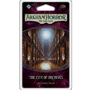 Arkham Horror LCG Mythos Pack : The City of Archives