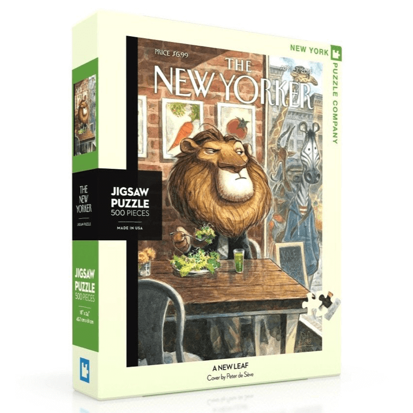 Puzzle (500pc) New Yorker : A New Leaf