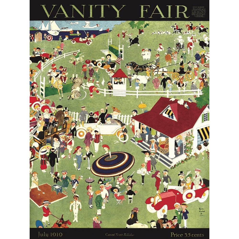 Puzzle (1000pc) Vanity Fair : A Day at the Races