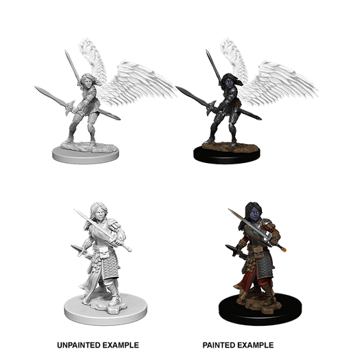 Mini - D&D Nolzur's Marvelous : Aasimar Paladin (Female)