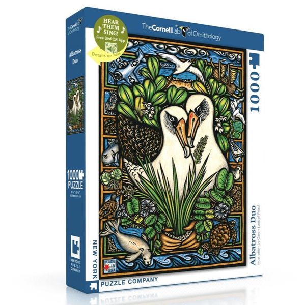Puzzle (1000pc) Cornell Lab of Ornithology : Albatross Duo