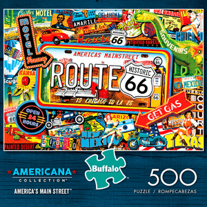Puzzle (500pc) Americana Collection : America's Main Street