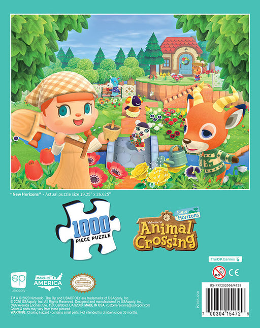 Puzzle (1000pc) Animal Crossing : New Horizons