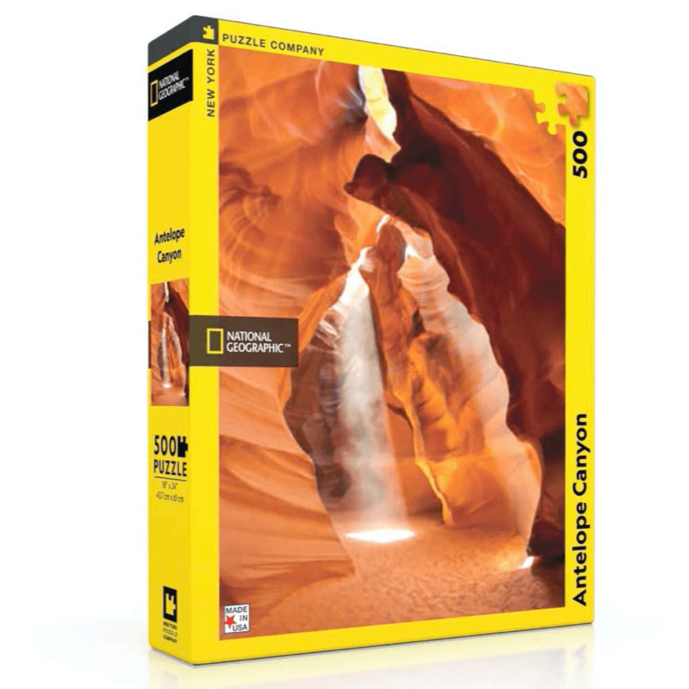 Puzzle (500pc) National Geographic : Antelope Canyon