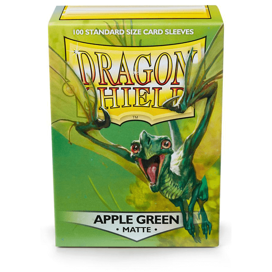 Sleeves Dragon Shield (100ct) Matte : Apple Green