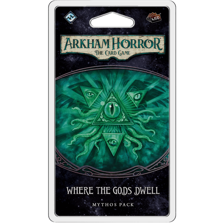 Arkham Horror LCG Mythos Pack : Where the Gods Dwell