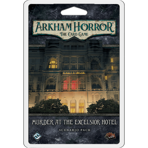 Arkham Horror LCG Expansion Scenario : Murder at the Excelsior Hotel