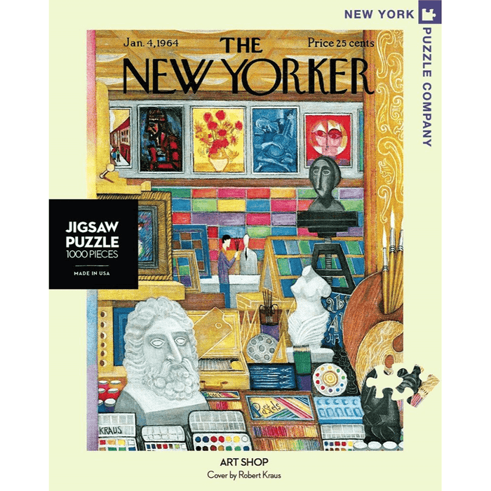 Puzzle (1000pc) New Yorker : Art Shop