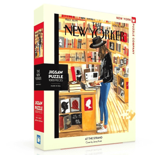 Puzzle (1000pc) New Yorker : At the Strand