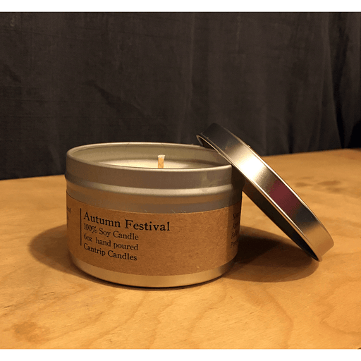 Cantrip Candles (6oz) Autumn Festival