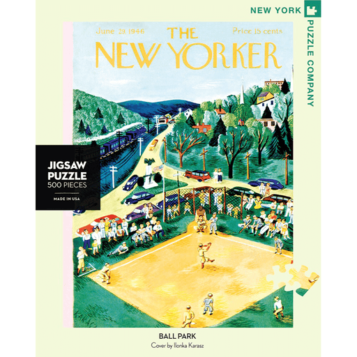 Puzzle (500pc) New Yorker : Ballpark