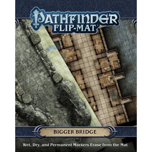 Battlemap Pathfinder Flip Mat : Bigger Bridge