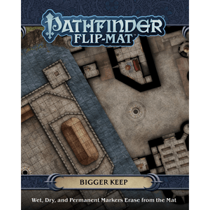 Battlemap Pathfinder Flip Mat : Bigger Keep