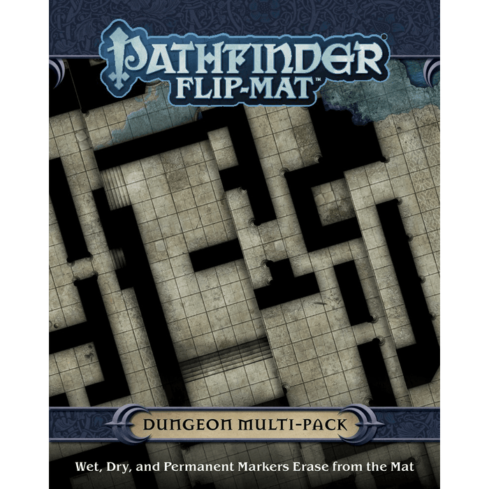 Battlemap Pathfinder Flip Mat (Multi-Pack) Dungeon