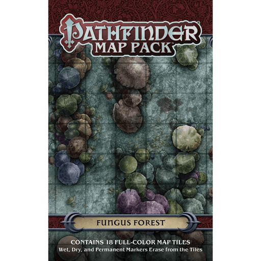 Battlemap Pathfinder Map Pack : Fungus Forest