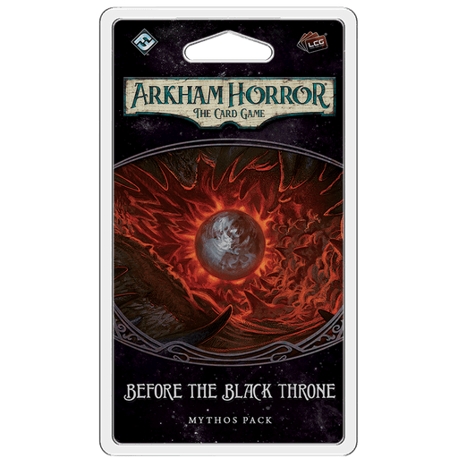Arkham Horror LCG Mythos Pack : Before the Black Throne