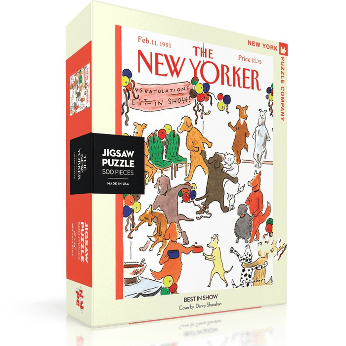 Puzzle (500pc) New Yorker : Best in Show