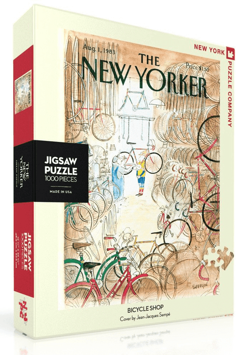 Puzzle (1000pc) New Yorker : Bicycle Shop