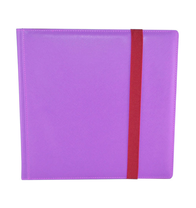 Binder Dex (12 Pocket) Purple