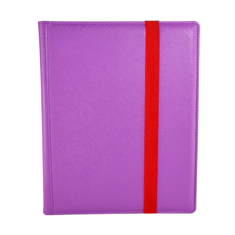 Binder Dex (9 Pocket) Purple