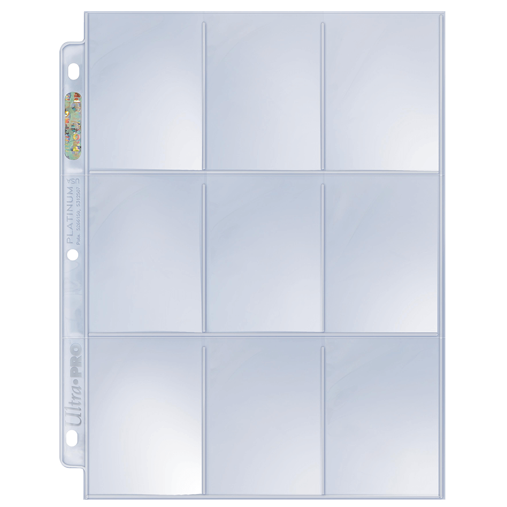 Binder Pages UP (9 pocket 100ct) Box