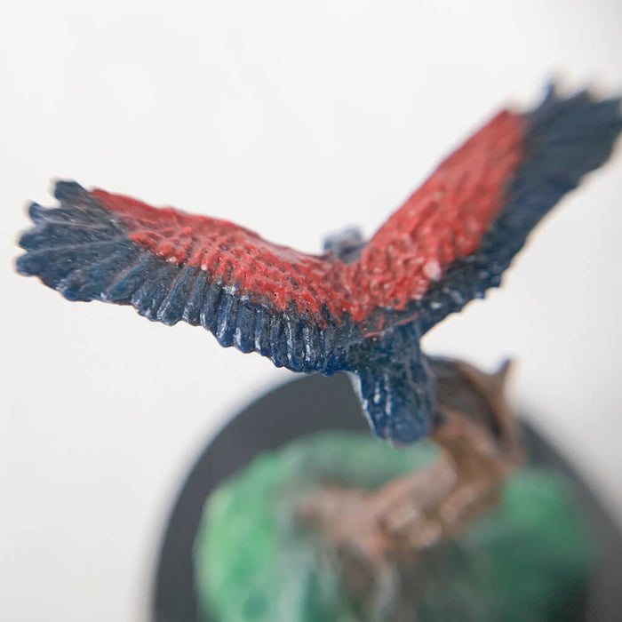 Pro Painted Miniature by Lauren Bilanko | Bird Bluetip Warbler