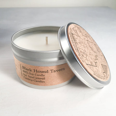 Cantrip Candles (6oz) Black Hound Tavern