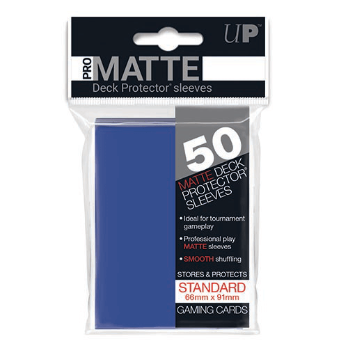 Sleeves Ultra Pro (50ct) Pro Matte : Blue