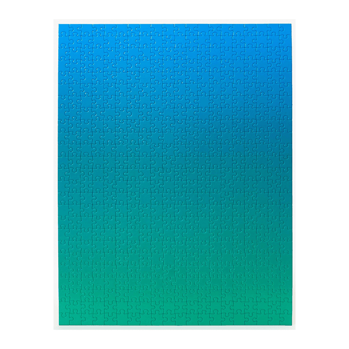 Gradient Puzzle (500pc) Blue / Green