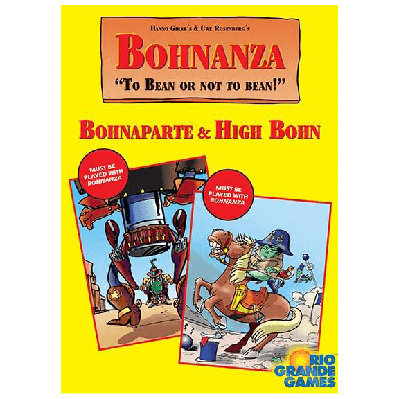 Bohnanza Expansion : Bohnaparte & High Bohn