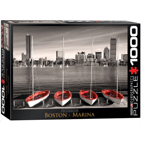 Puzzle (1000pc) City : Boston Marina