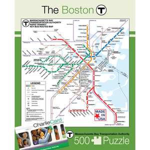 Puzzle (500pc) Map : Boston Transit