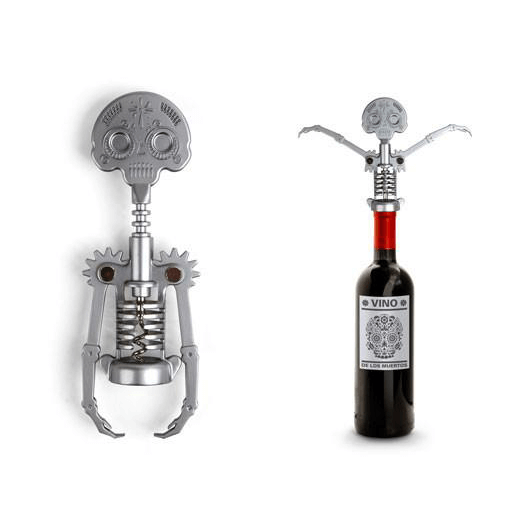 Bottle Opener Wine : Day of the Dead