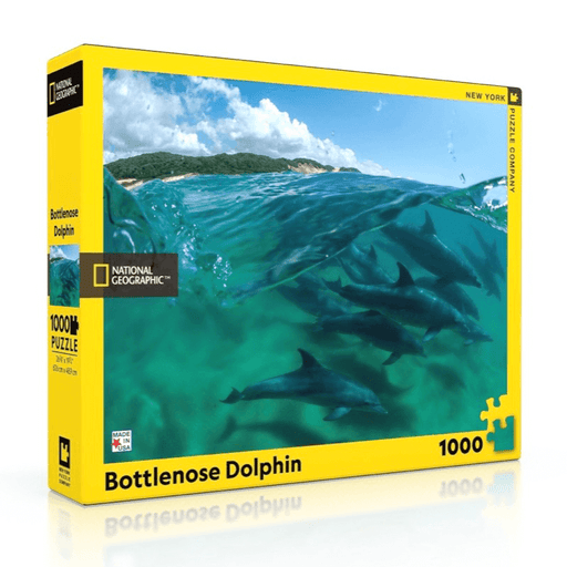 Puzzle (1000pc) National Geographic : Bottlenose Dolphins