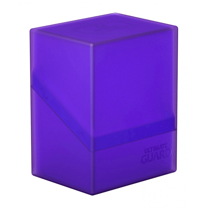 Deck Box Ultimate Guard Boulder (100ct) Amethyst
