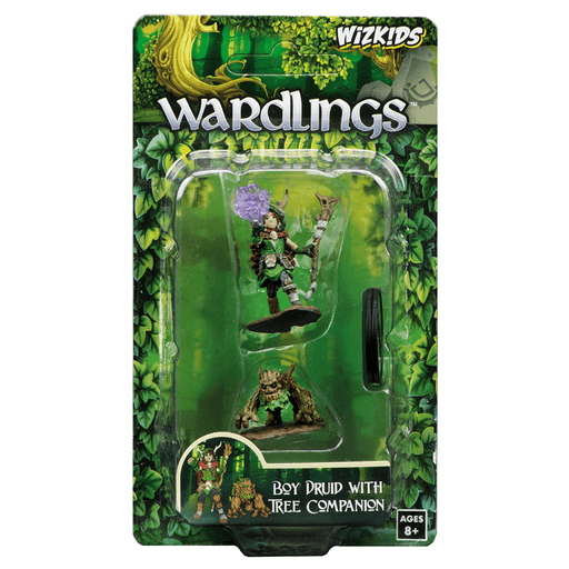 Mini - Wardlings : Boy Druid and Tree Creature