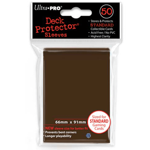 Sleeves Ultra Pro (50ct) Brown