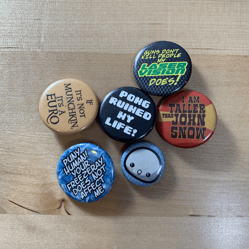 Button : Assorted
