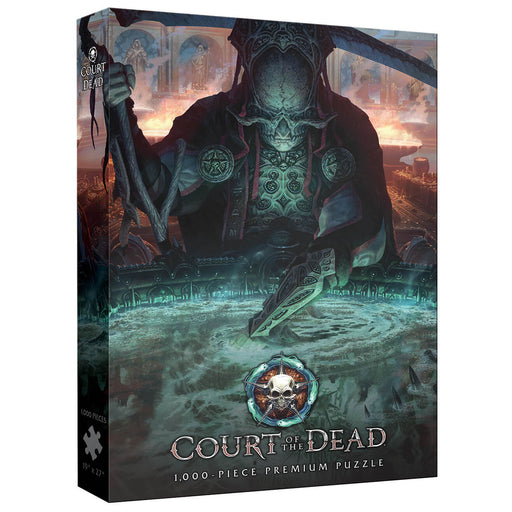 Puzzle (1000pc) Court of the Dead : The Dark Shepherd's Reflection
