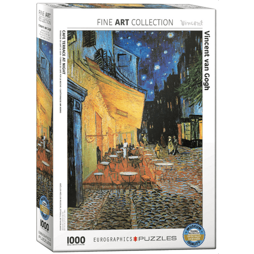 Puzzle (1000pc) Fine Art : Cafe Terrace at Night