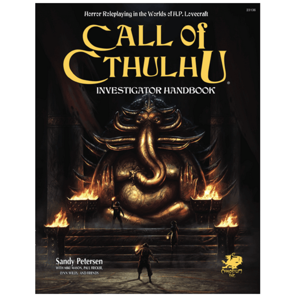 Call of Cthulhu (7th ed) Investigator Handbook