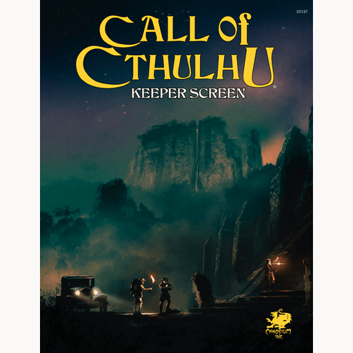 Call of Cthulhu (7th ed) Keeper Screen